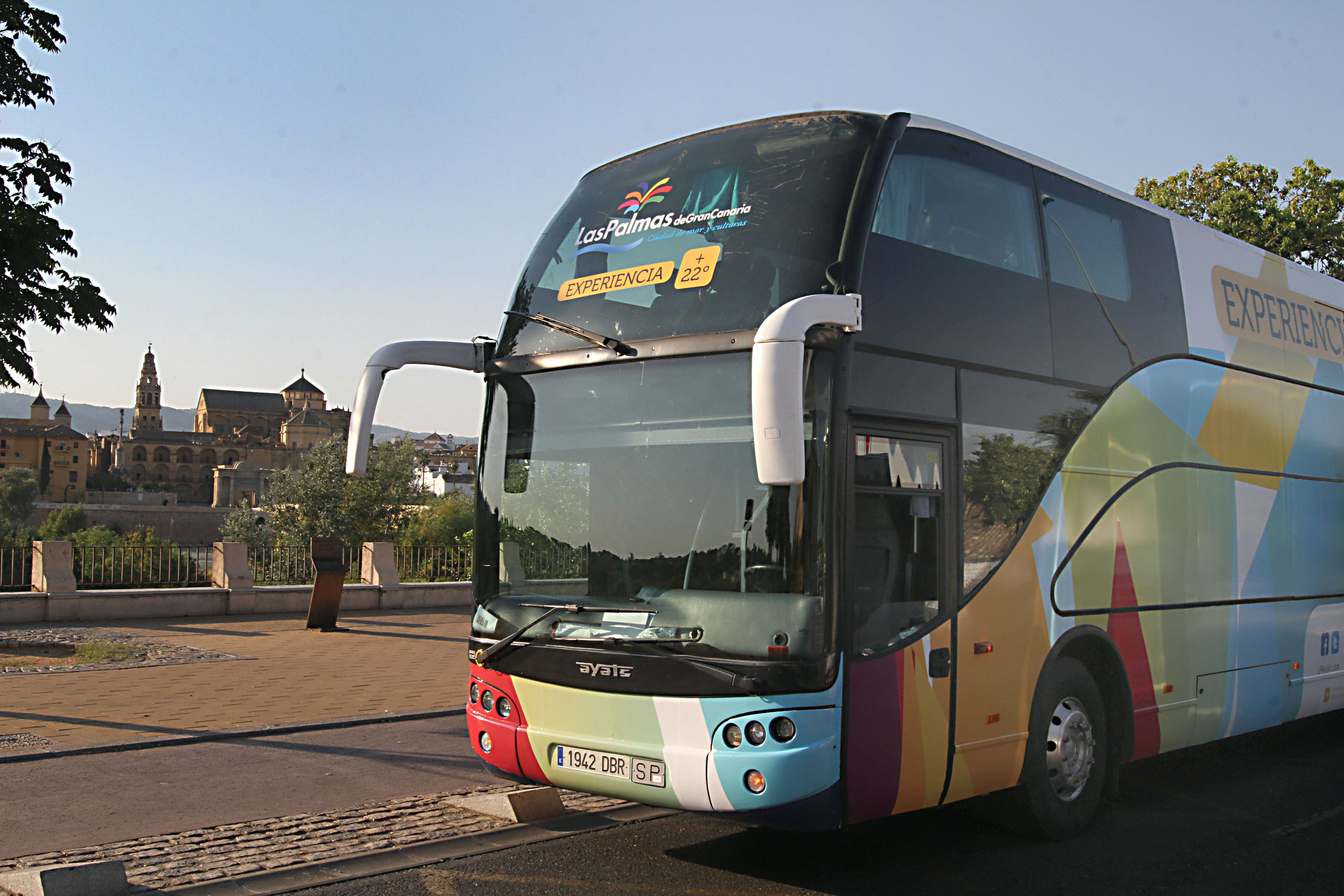 LPGC bus - Cordoba Great Mosque