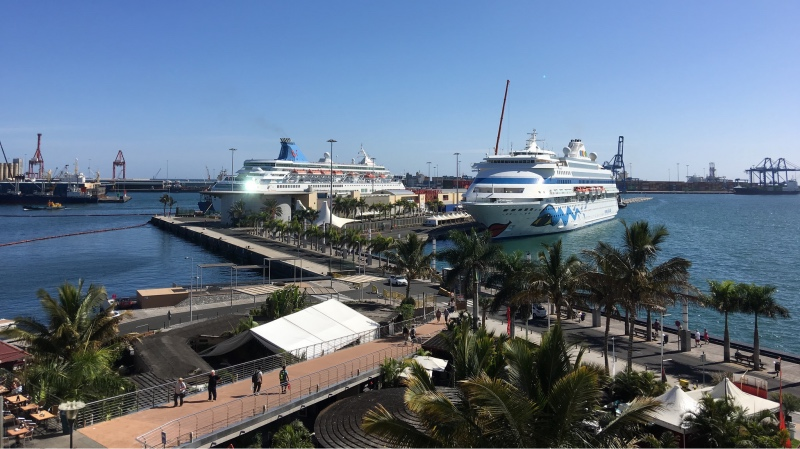Cruise to Gran Canaria with arrival in Puerto de La Luz in Las Palmas