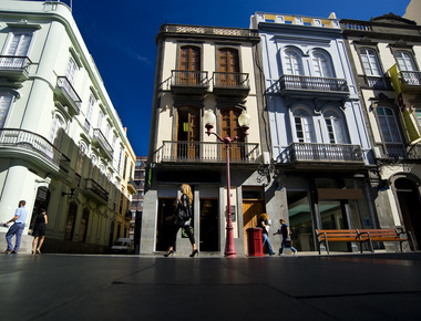 Calle Mayor de Triana atractivo