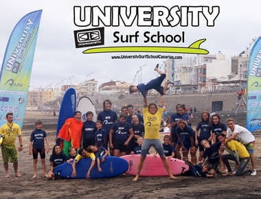 University Surf School exp